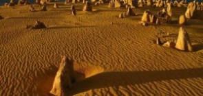 Странное место — пустынное кладбище глыб
