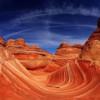 Аризонская волна застывшая во времени