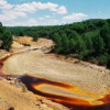 Красная река Рио-Тинто в Испании