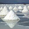 Высохшее озеро в Боливии Солончак Уюни