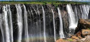 Водопад Виктория Замбия