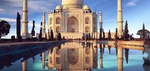 Храм Тадж Махал в Индии