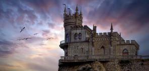 Замок «Ласточкино гнездо» в Крыму