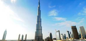 Башня Бурдж Халифа — самое большое здание в мире