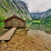 Озеро Оберси (Obersee) — райское место