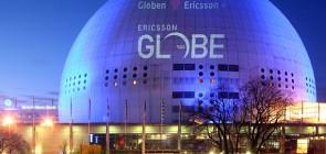 Глобен Арена в Стокгольме
