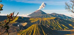 Остров Ява — опасный вулкан Мерапи