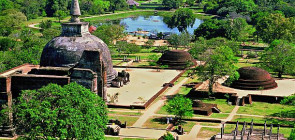 Анурадхапура — древний город в джунглях