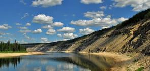 Река Амга. Якутия