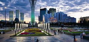 Башня Байтерек — символ Казахстана