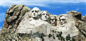 Гора Рашмор в США