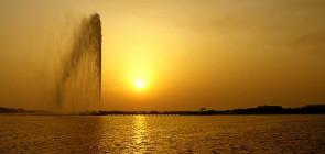 Фонтан Фахда — самый высокий фонтан в мире