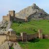 Крым. Генуэзская крепость в Судаке