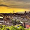 Город Флоренция. Италия