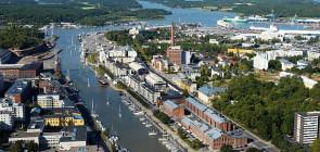 Город Турку. Финляндия