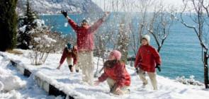 Отдых зимой в зимние каникулы