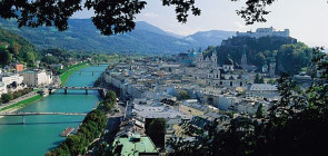 Зальцбург в Австрии — музыкальный город