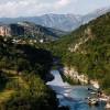 Река Морача в Черногории