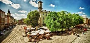 Город Львов. Украина