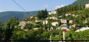 Курорт Гагра в Абхазии