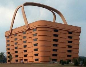 Дом в виде корзины в Сша