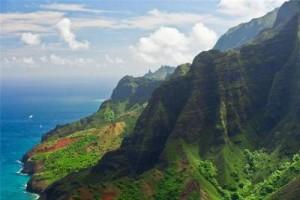 Очень красивый райский остров сад Кауаи