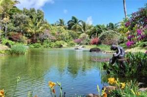 райское место Кауаи, Гавайи