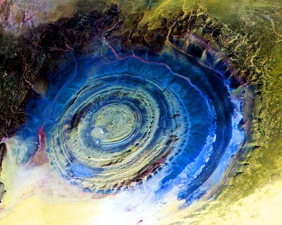 Глаз сахары в мавритании