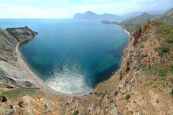 Крым. Тихая бухта
