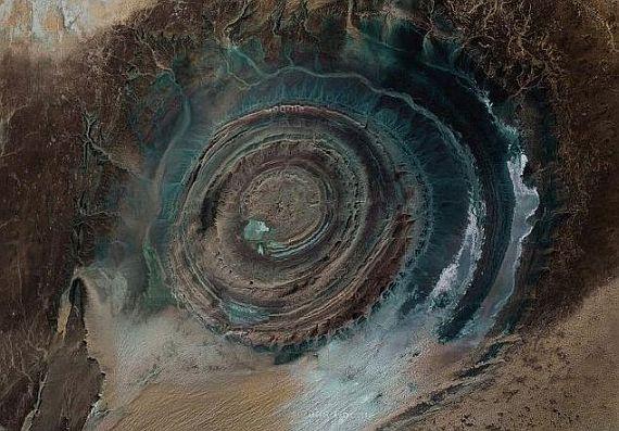 Мавритания Глаз сахары