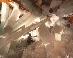 Пещера расположена всего в миле от точки извержения магмы