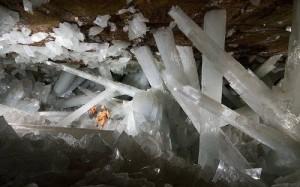 Уникальная пещера кристаллов в Мексике