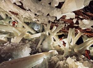 пещера кристаллов в Мексике