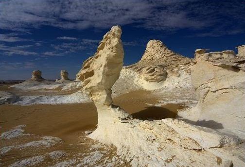 Белая пустыня (White Desert) - часть пустыни Сахара