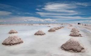 Боливия. Соляное озеро в Уюни