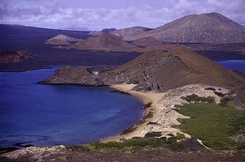 Галапагосы - океанские острова вулканического происхождения