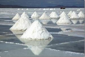 Озеро Солончак Уюни – это само по себе практически высохшее соленое озеро