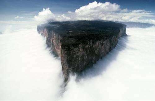 Гора Рорайма - восхитительное место.