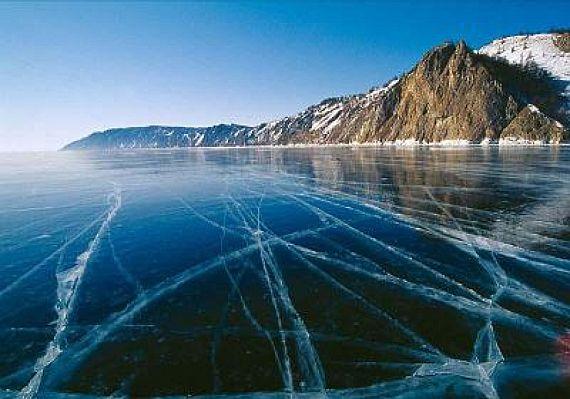 Странные круги на озере Байкал