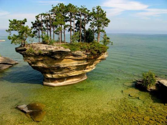 Озеро Гурон размещается в Северной Америке