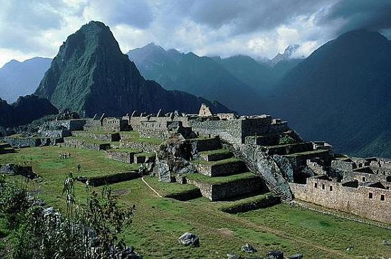 Затерянный город Мачу Пикчу в Куско (Перу)