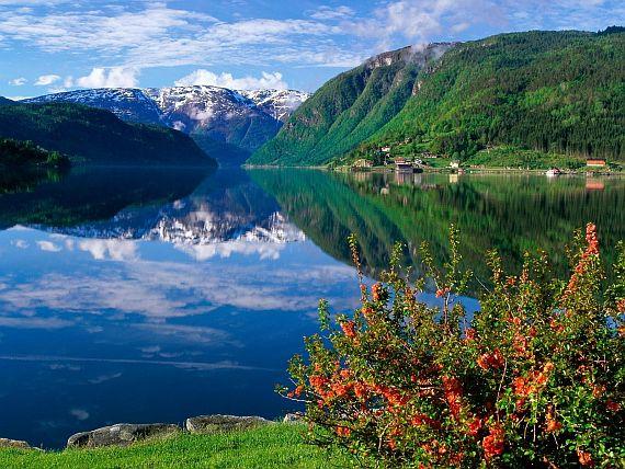 фьорды норвегии видео