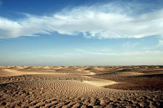 где пустыня сахара