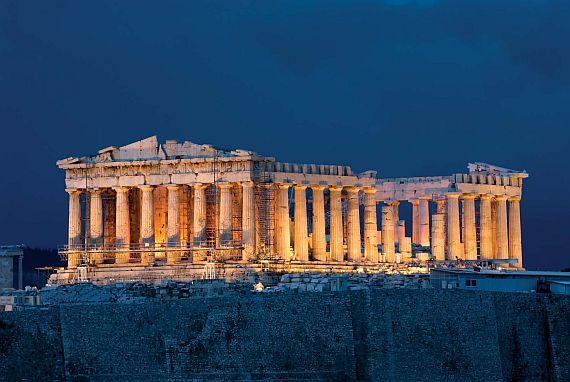 храм акрополя парфенон