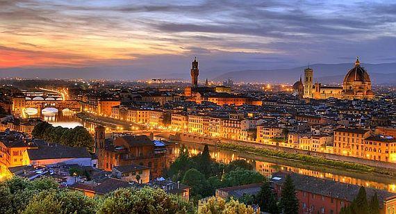 италия город флоренция