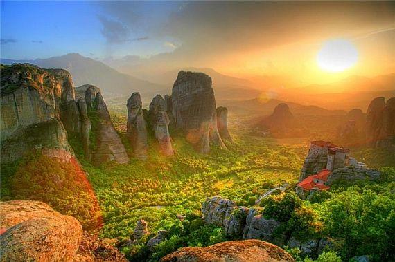 метеоры монастыри в греции