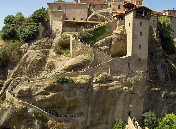 монастыри метеоры фото