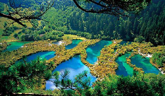 национальный парк цзючжайгоу китай