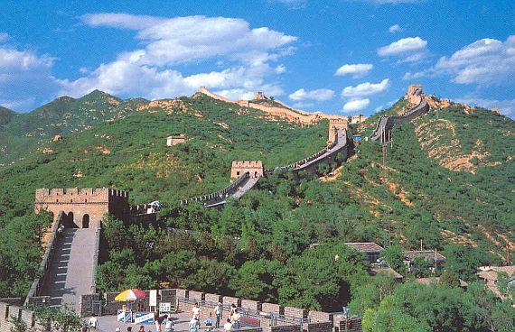 протяженность великой китайской стены