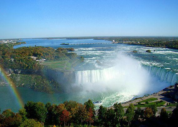 смотреть ниагарский водопад